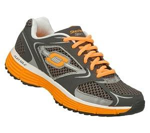 Skechers Sport Agility Womens Sneakers Charcoal/Orange 8.5