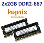 4GB Dual Channel Kit HYNIX original 2...