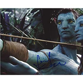 Sam Worthington Avatar Signed Photo GAI Certified