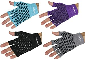 ProSource Grippy Yoga Gloves (Pair) - Non Sticky by ProSource