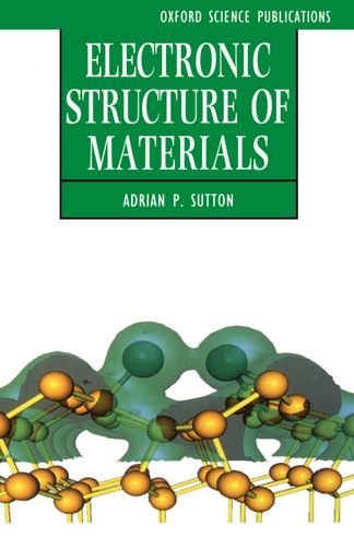electronic structure of materials sutton pdf