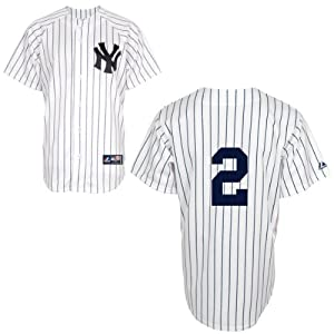 Derek Jeter New York Yankees Home Replica Jersey (Number Only) by Majestic by Majestic