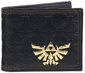 Nintendo Legend of ZELDA Logo Black Bi-Fold WALLET