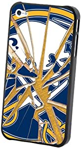 NHL Buffalo Sabres iPhone 4/4S Broken Glass Lenticular Case