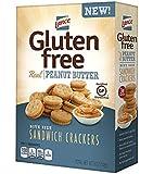 Lance Gluten Free Sandwich Crackers, Peanut Butter, 4 Count (Pack of 4)
