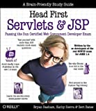 img - for Head First Servlets and JSP: Passing the Sun Certified Web Component Developer Exam (SCWCD) book / textbook / text book
