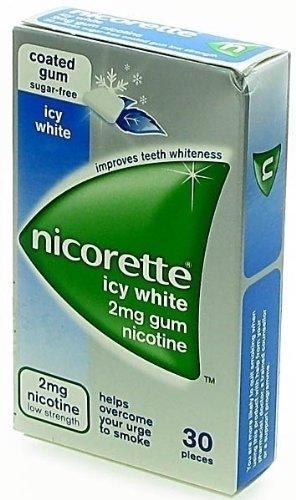 Nicorette Icy White Gum 2Mg 30 Gums
