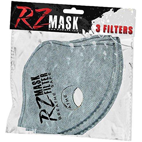 RZ-Mask-RZM44387-Facemask-Black-Mesh-RZ-Filtering