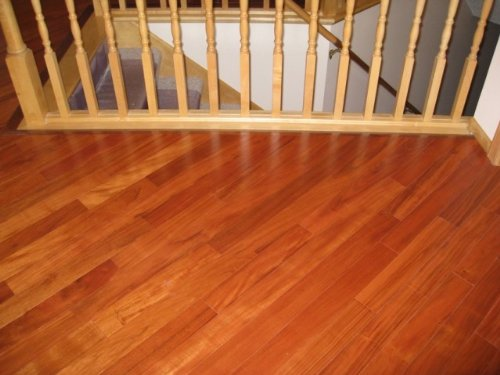 Brazilian Tiger Teak Curupay Solid Prefinished Hardwood