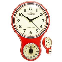 Retro Kitchen Timer Wall Clocks Kitchen Wall Clocks Www