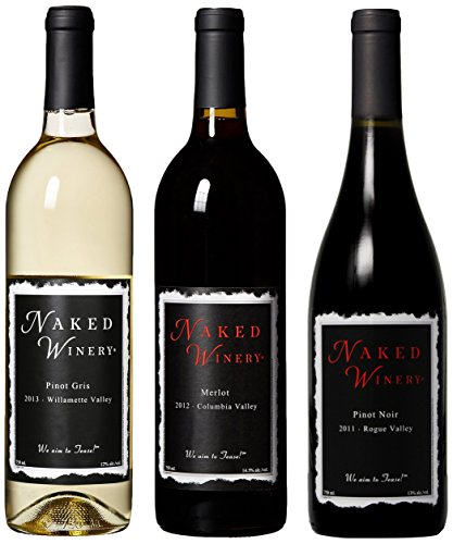 Naked Winery Perfect Threesome Mixed Pack, 3 X 750 Ml