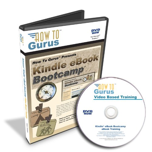Amazon Kindle Ebook Bootcamp Training On Dvd. How To Make And Sell Ebooks On Kindle. Over 6 Hours In 59 Video Lessons. Computer Software Video Tutorials.