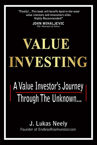 Value Investing Edge: A Value Investor's Journey Through The Unknown. by J. Lukas Neely ebook deal