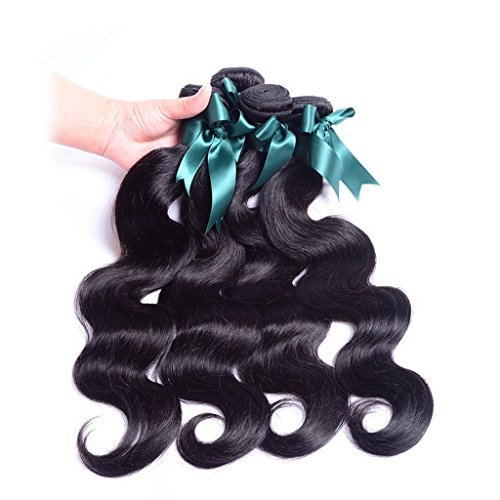 Danolsmann-Hair-6A-Malaysia-Virgin-Hair-Body-Wave-Bundles-4-Pcs-Per-Package-141oz100-Unprocessed-Virgin-Human-Hair-Weave-More-Wavy-Natural-Color