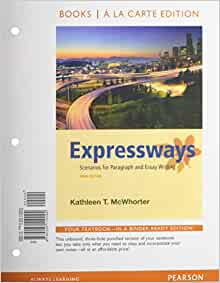expressways scenarios for paragraph and essay writing 3rd edition Browse and read expressways scenarios for paragraph and essay writing 3rd edition expressways scenarios for paragraph and essay writing 3rd edition.