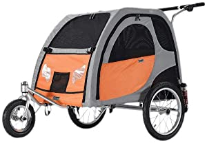 Petego Stroller Conversion Kit for Comfort Wagon Pet Bicycle Trailer, Medium