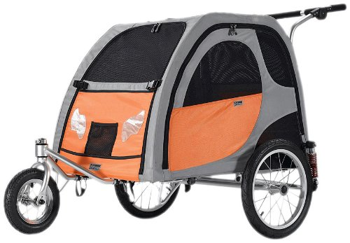 Stroller Conversion Kit for Comfort Wagon Pet Bicycle Trailer, Medium