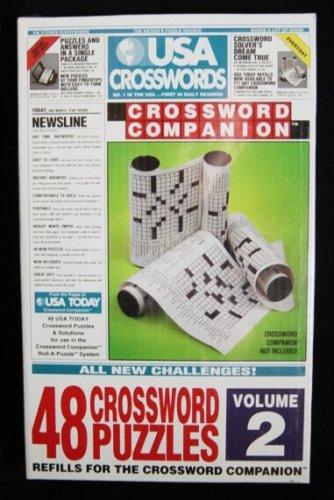 USA Crosswords Volume 2 Refill For The Crossword Companion - 1