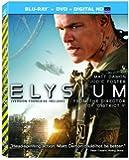 Elysium  [Blu-ray + DVD + UltraViolet] (Bilingual)