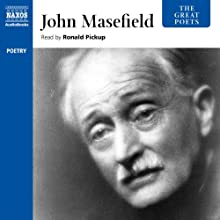 The Great Poets: John Masefield Audiobook by John Masefield Narrated by Ronald Pickup