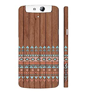 Oppo N1 Mini The 2 elements designer mobile hard shell case by Enthopia