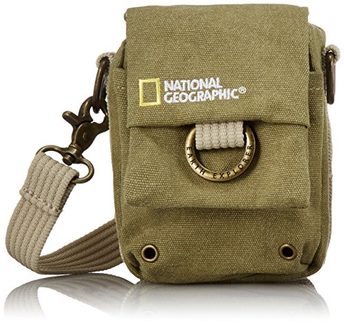 National Geographic NG 1153, Custodia Serie Earth Explorer, per Fotocamera, Colore Verde