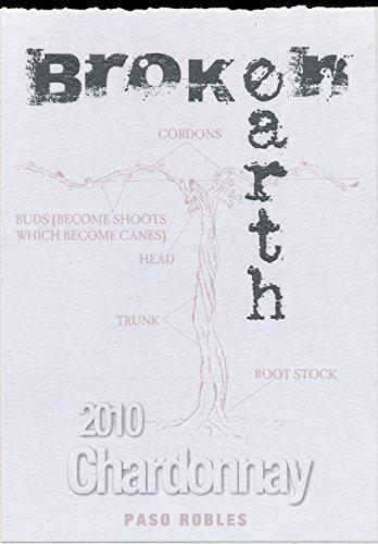 2010 Broken Earth Chardonnay Paso Robles 750 Ml