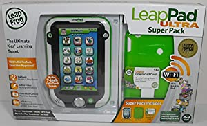 LeapFrog LeapPad Ultra Super Pack with Gel Skin and $30 Digital Download Card from LeapFrog