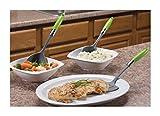 Jokari Healthy Steps 6 Piece Portion Control/Weight Loss Essentials Set, Multicolor