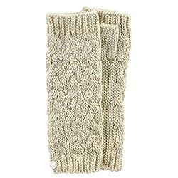 Acorn Women's Gabby Arm Warmers,Beige,One Size