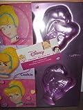 Wilton Disney Princess Cinderella Mini Treats Cake Pan Mold ~ 4 Cavity