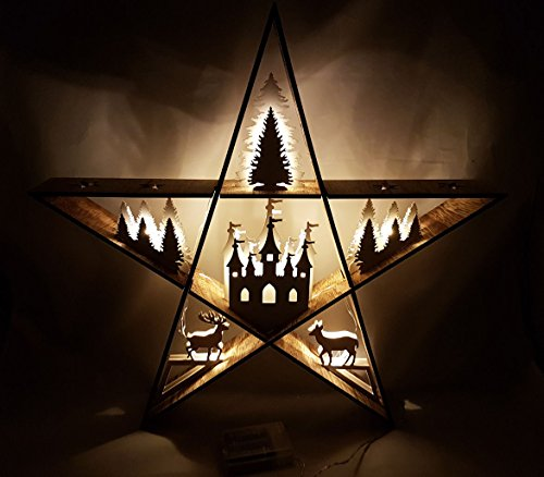 Beleuchteter-Holz-Deko-Stern-LED-Leuchte-mit-6-Motiven-Weihnachtsdeko-Fensterdeko