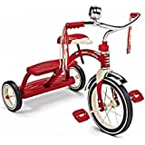 Radio Flyer 33 Steel And Chrome Classic Red Dual Deck Tricycle (12` Front Wheel)