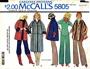 McCall's 5805 A - Vintage Sewing Patterns
