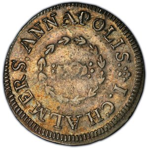 1783 Sixpence, Small Date EF