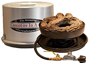 Campfire In A Can Portable Propane Outdoor Fire Pit Patio Heater