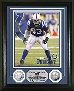 NFL Indianapolis Colts Dwight Freeney Photo Mint Gold Coin by Highland Mint