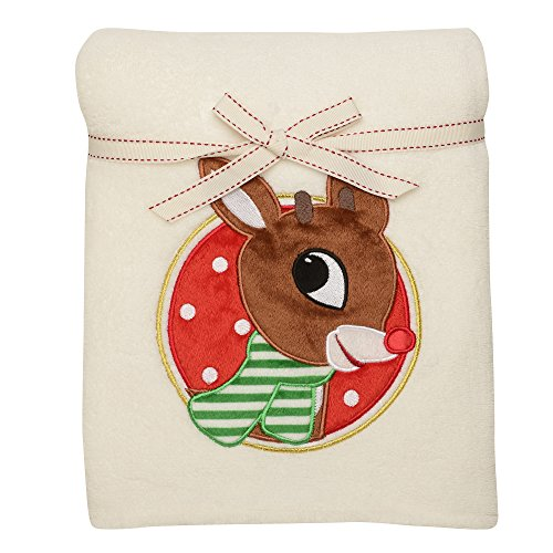 "Rudolph the Red Nosed Reindeer 30x40"" Blanket"
