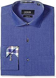 Jadeblue Men's Formal Shirt (1116303900NZJ2_00NZ_38_Blue)
