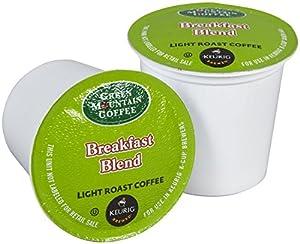 Green Mountain Coffee Breakfast Blend, K-Cup for Keurig Brewers