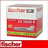 Fischer Universaldübel 10x60mm UX10X60R