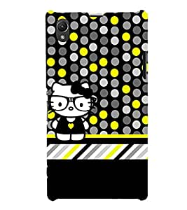 Cool Crazy Fashion 3D Hard Polycarbonate Designer Back Case Cover for Sony Xperia Z1 :: Sony Xperia Z1 L39h