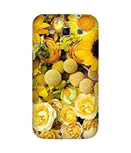 Yellow Floral Samsung Galaxy Grand Duos I9082 Case