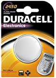 Duracell CR2450 Lithium Knopfzelle DL2450