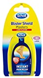 Scholl Blister Shield Large Plasters 5's - Instant Pain Relief - With Hydra Guard Technology (Pack of 3)