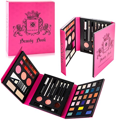 SHANY All-in-One Makeup Palette with Tools and Eyes, Lips an