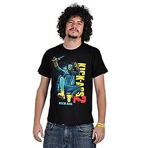 Kick Ass - Camiseta de manga corta para hombre