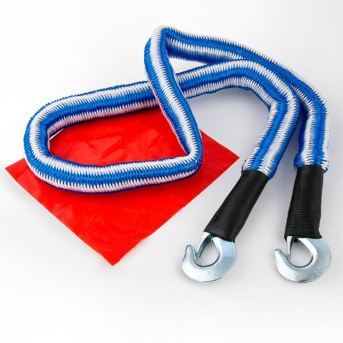 Relaxdays elastisches Abschleppseil 1,5m bis