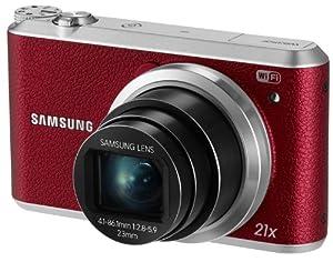 Samsung WB350F 16.2MP CMOS Smart WiFi & NFC Digital Camera with 21x Optical Zoom, 3.0