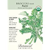 Broccoli Raab Rapini Certified Organic Seed